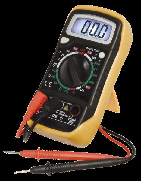 Digitalmultimeter McPower ''M-730L'', DataHold-Funktion, Beleuchtung