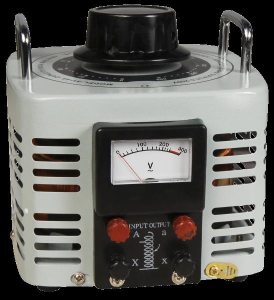 Ringkern-Stelltrafo McPower ''V-4000'', 0-250 V, 4 A, 1.000 W, NICHT galvanisch getrennt