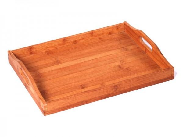 TABLETT LUBLIJANA Bamboo Bambus Betttablett Serviertablett 40 x 30 cm