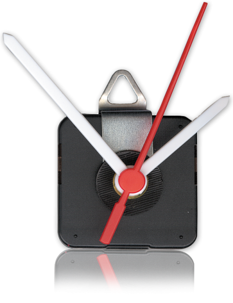 Quarzuhrwerk ''CQ-5001'', inkl. 1x Kunststoff-Zeigersatz, springend