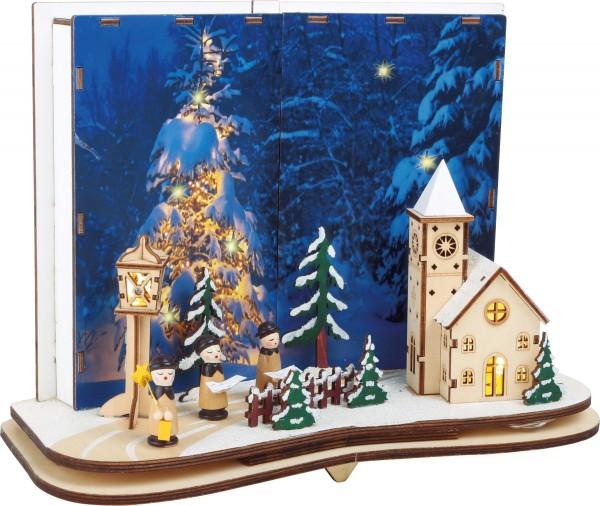 Deko-Lampe Weihnachtsgeschichte