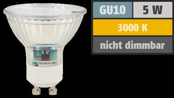 LED-Strahler McShine ''ET50'', GU10, 5W, 400 lm, warmweiß