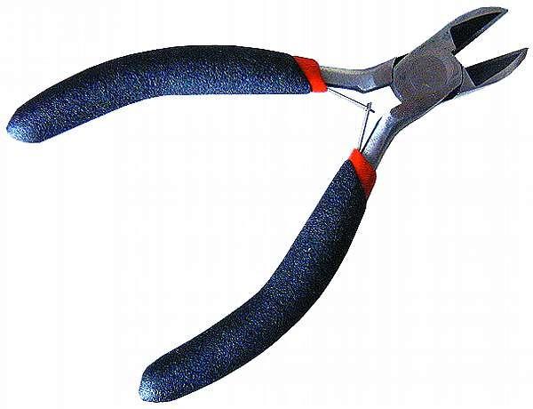 Mini-Seitenschneider McPower ''Top-Grip'', 125 mm, federšöffnend, rutschfester Griff