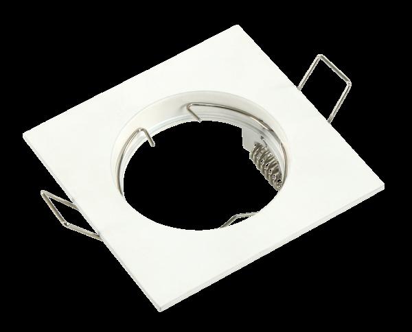 Einbaurahmen McShine ''DL-102'', weiß, 80x80mm, starr