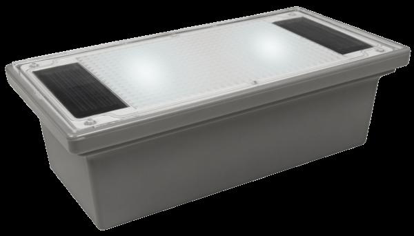 Solar LED-Bodenleuchte McShine ''Pflasterstein'' 20x10x6cm, IP68
