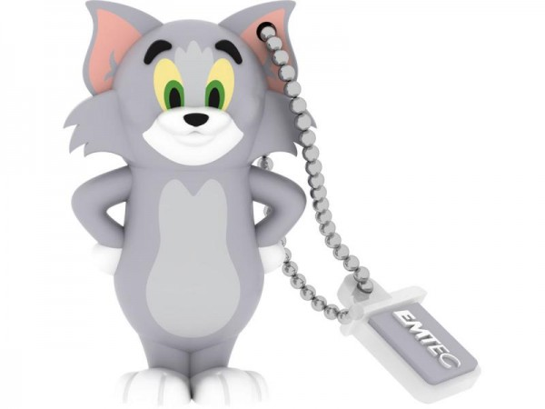 kQ Emtec Tom USB Stick 8 GB Emtec Tom & Jerry (Tom) - ECMMD8GHB102 8 GB Katze