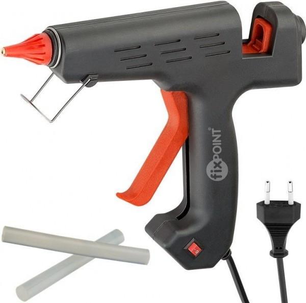 Heißklebepistole für 12 mm Sticks; 200 W inkl. 2 Klebesticks
