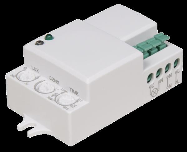 Mikrowellen-Bewegungsmelder McShine ''LX-701C'', 360¡, 230V / 1.200W, weiß, LED geeignet