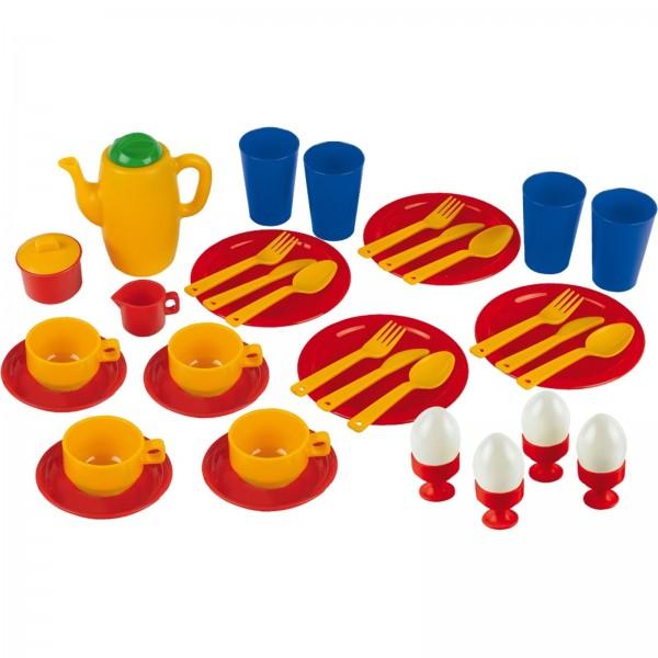 Emma's kitchen - Frühstücksset groß, Kinderhaushaltsgerät von Theo Klein
