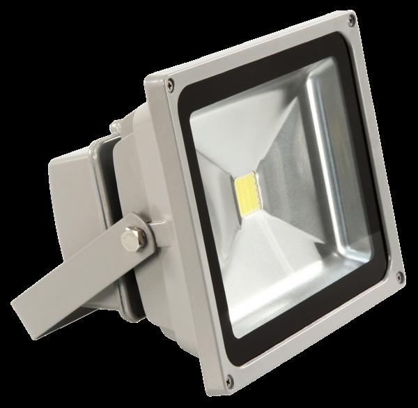 LED-Außenstrahler McShine, 30W, IP44, 2.700 lm, 3000K, warmweiß
