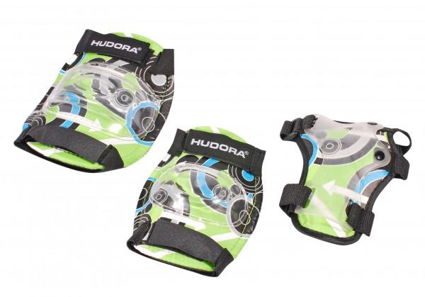 Hudora Kinder Protektorenset Green Style Schützer Set grün