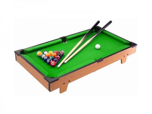 Mini Pool Billardtisch, Maße: 69,5 x 37 x 13,5 cm, Billard Billiard Spiel