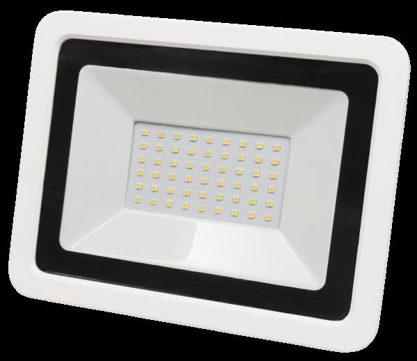 LED-Außenstrahler McShine ''SMD-Slim'' 50W, 3500Lumen, 3000K, warmweiß, IP44