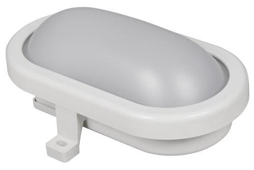 LED Feuchtraumleuchte McShine 450lm, 4000K, 6W, neutralweiß, IP65, 170x92x70mm