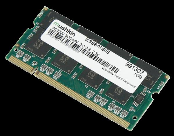 Arbeitsspeicher SO-DDR-I RAM, 400MHz, 1024MB, CL 3.0, div. Marken