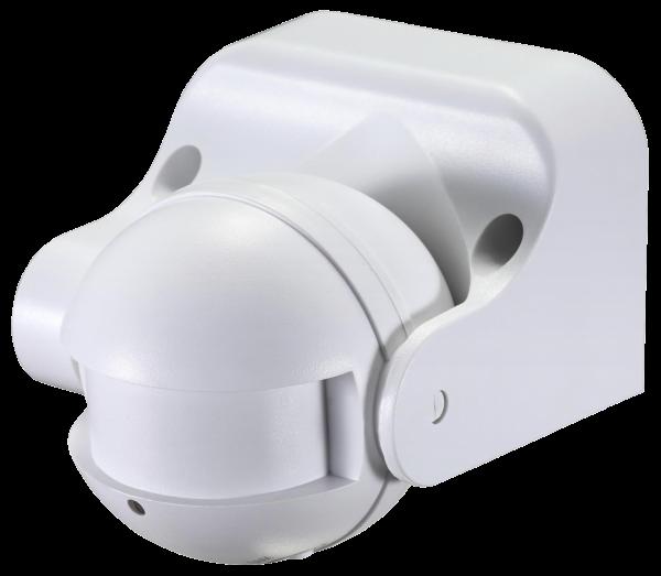 Mikrowellen-Bewegungsmelder McShine ''LX-752'', 180°, 230V / 1.200W, weiß, LED geeignet