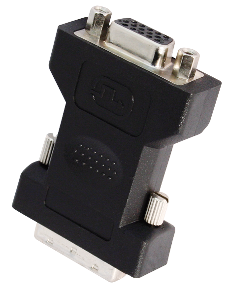 DVI VGA-Adapter DVI Stecker -> VGA Buchse, 24+5Pin
