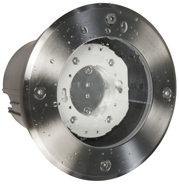 Bodenleuchte McShine ''BL-05R'' IP65, GX53 Fassung, Ø140x115mm, rund