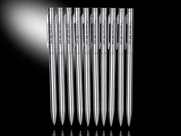 PEARL Kugelschreiber: Metallkugelschreiber 10er-Set
